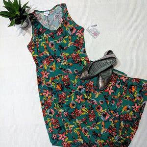 LuLaRoe Medium Dani with Gorgeous Floral Pattern